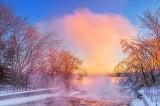 Christmas Sunrise Mist 20131225