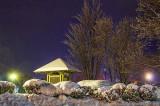 Canal Kiosk In Winter 20131226