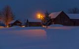 Winter Farm At First Light 20131227