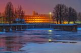 Wintry Rideau Canal Dawn 20131229