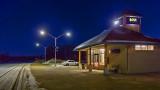 VIA Rail Station At Dawn 20131230