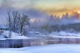 Canadian Mississippi River At Sunrise 41374