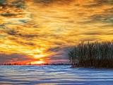Winter Sunset DSCF12343