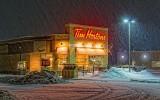 Snowy Tim Hortons 20140110