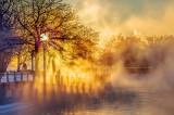 Mist At Sunrise DSCF12849-51