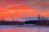 Irish Creek Winter Sunrise 20140130