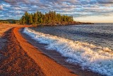 Lake Superior At Sunset 02063