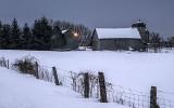 Winter Farm At Dawn 20140208