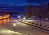 Rideau Canal At Dawn 41556-8