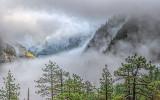 Fog-filled Yosemite Valley 22831