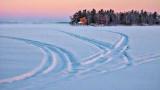 Tracks On Otter Lake 20140220