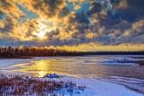 Swale Sunset 20140221