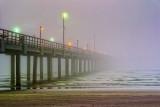 'Piering' Into A Dawn Fog 47213