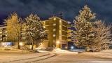 Econo Lodge At Night 43189-97