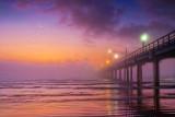 Pier In First Light Fog 47207