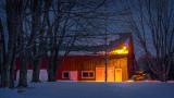 Barn At First Light 20140314