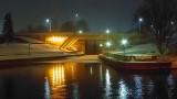 Beckwith Street Bridge At Night P1000796-8