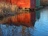 Boathouse Reflection P1020132