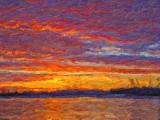 Irish Creek Sunrise P1020980-2 Art