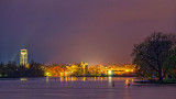 Downtown Smiths Falls At Night 43951