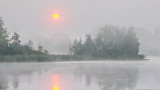 Foggy Rideau Canal Sunrise 20140802