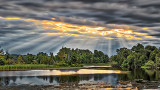 Sunrays Over The Rideau 20140816