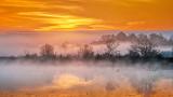 Misty Rideau Canal Sunrise 20141013