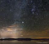 Starry Night Sky 20141025