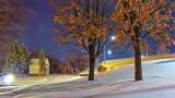 Snowy Nightscape 20141120
