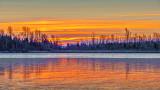 Freezing Rideau Canal Sunrise P1030648-50