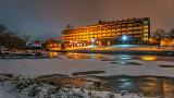 Econo Lodge At Night P1030666-8