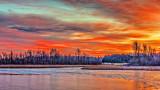 Irish Creek At Sunrise P1030798-800