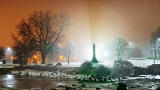 Cenotaph On A Foggy Night 20141217