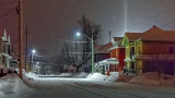 Winter Night Light Pillar P1070050-2