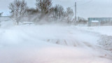 Blowing Snow 20150215