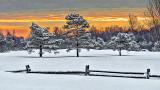 Sunrise Snowscape 20150222
