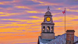 Perth Clock Tower At Sunrise 20150310