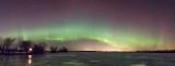 St Patrick's Day Aurora Panorama 20150317