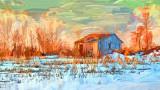 Old Shed At Sunrise 'Art' P1090261-2