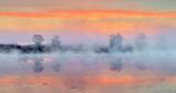 Misty Rideau Canal At Sunrise P1160175-7