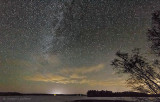 Otter Lake At Night 46233