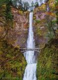 Multnomah Falls Art 21096