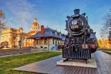 Kingston City Hall, Old Train Station & CP Engine 1095 (DSCF5505)