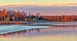 Freezing Rideau Canal At Sunrise P1220617-8