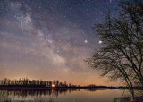 Milky Way Over The Rideau River P1050379