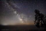 Milky Way Galactic Core Over Ground Fog 48257