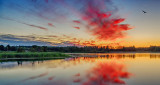Red Cloud At Sunrise P1090152-4