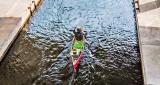 Canoe In The Canal DSCF21770