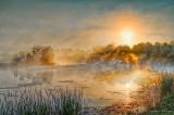 Misty Rideau Canal Sunrise P1110204-10