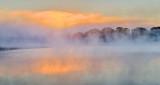 Otter Creek Fogged Sunrise P1110749-53